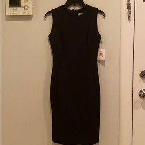 Calvin Klein Black Pencil Dress